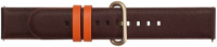 Купить Ремешок Samsung, Braloba Active Leather Dress для Galaxy Watch Active/Watch 42мм Dark Brown (GP-XVR500BRDDW)
