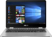 "Ноутбук-трансформер ASUS ViVoBook Flip 14 TP401CA-EC083T (Intel Core m3 7Y30 1GHz/14""/1920x1080/4GB/128GB SSD/Intel HD Graphics 615/DVD нет/Wi-Fi/Bluetooth/Win 10)"