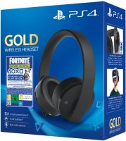 Беспроводные наушники с микрофоном PlayStation Gold Wireless Headset + Fortnite (CUHYA-0080)