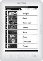 Электронная книга Digma R63W White