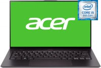 "Ноутбук Acer Swift 7 SF714-52T-514N (NX.H98ER.004) (Intel Core i5 8200Y 1.3GHz/14""/1920x1080/8GB/256GB SSD/Intel UHD Graphics 615/DVD нет/Wi-Fi/Bluetooth/Cam/Windows 10)"