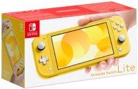 Игровая приставка Nintendo Switch Lite желтый