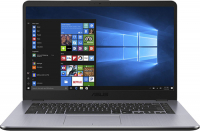 Купить Ноутбук ASUS, ViVoBook 15 X505ZA-BQ737T (AMD Ryzen 3 2300U 2GHz/15.6 /1920x1080/6GB/128GB SSD/Radeon Vega 6 Graphics/DVD нет/Wi-Fi/Bluetooth/Win 10)