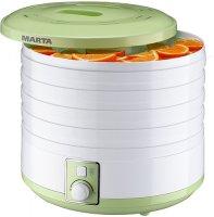 Сушилка для овощей и фруктов Marta MT-1953 Green/Jade