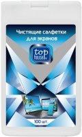 Чистящие салфетки для экранов Top House 100 шт (393309)