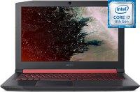 """Ноутбук игровой Acer Nitro 5 AN515-52-77YX (NH.Q3XER.019) (Intel Core i7 8750H 2.2GHz/15.6""""/1920x1080/16GB/1Tb HDD+512GB SSD/nVidia GeForce GTX 1060/DVD нет/Wi-Fi/Bluetooth/Cam/Linux)"""