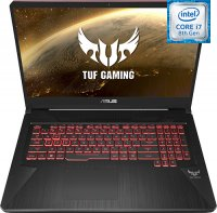 "Игровой ноутбук ASUS TUF Gaming FX705GD-EW217T (Intel Core i7-8750H 2.2GHz/17.3""/1920х1080/8GB/1TB HDD + 256GB SSD/Intel GeForce GTX 1050/DVD нет/Wi-Fi/Bluetooth/Win 10)"