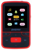 MP3-плеер Digma T4 Black/Red