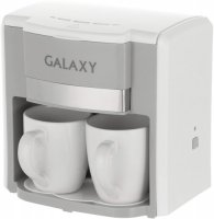 Кофеварка GALAXY GL 0708 White