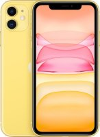 Смартфон Apple iPhone 11 64GB Yellow (MWLW2RU/A)