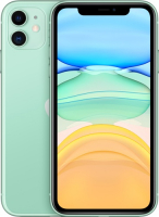 Смартфон Apple, iPhone 11 128GB Green (MWM62RU/A)  - купить со скидкой