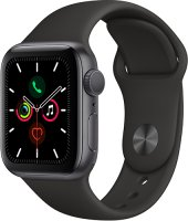 Смарт-часы Apple Watch S5 40mm Space Grey Sport Band (MWV82RU/A)