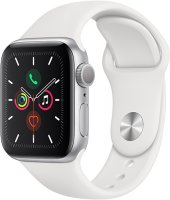 Смарт-часы Apple Watch S5 40mm Silver Sport Band (MWV62RU/A)