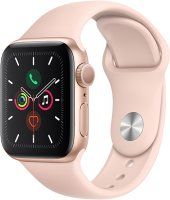 Смарт-часы Apple Watch S5 40mm Gold Sport Band (MWV72RU/A)