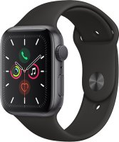 Смарт-часы Apple Watch S5 44mm Space Grey Sport Band (MWVF2RU/A)