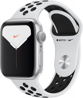 Смарт-часы Apple Watch S5 Nike+ 40mm Silver Sport Band (MX3R2RU/A)