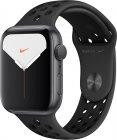 Смарт-часы Apple Watch S5 Nike+ 44mm Space Grey Sport Band (MX3W2RU/A)