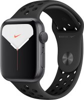 Смарт-часы Apple Watch S5 Nike+ 44mm Space Grey Sport Band (MX3W2RU/A)