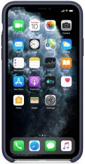 Электроника Чехол Apple Silicone Case Для Iphone 11 Pro Max Midnight Blue (Mwyw2Zm/A) Москва