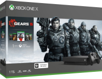 Купить Игровая приставка Microsoft, Xbox One X 1TB + Gears 5 (CYV-00331)