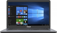Купить Ноутбук ASUS, X705UB-GC309T (Intel Core i5-8250U 1600Mhz/17.3 /1920х1080/4GB/1TB/DVD нет/NVIDIA GeForce MX110/Wi-Fi/Bluetooth/Win 10 Home)