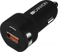 Автомобильное зарядное устройство Canyon CNE-CCA033B