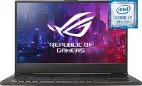 "Игровой ноутбук ASUS ROG Zephyrus S GX701GXR-EV058T (Intel Core i7-9750H 2.6GHz/17.3""/1920х1080/24GB/1TB SSD/nVidia GeForce RTX2080 Max-Q Design/DVD нет/Wi-Fi/Bluetooth/Win 10 Home)"