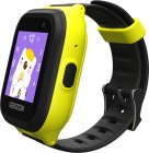 Смарт-часы Geozon LTE Black Yellow (G-W01YBLK)