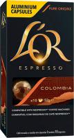 L OR ESPRESSO COLOMBIA ANDES