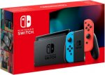Игровая приставка Nintendo Switch (неоновый синий/неоновый красный)
