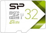 Карта памяти Silicon Power microSDHC 32GB Elite (SP032GBSTHBU1V21)