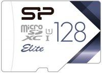 Карта памяти Silicon Power microSDXC 128GB Elite (SP128GBSTXBU1V21)