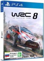 Игра для PS4 Bigben Interactive WRC 8