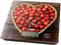 Кухонные весы Lumme LU-1344 Садовая вишня