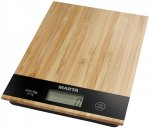 Кухонные весы Marta MT-1639 Бамбук