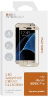Купить Защитное стекло с рамкой 2.5D InterStep, для Honor 9X/9X Pro Black