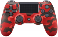 Геймпад PlayStation DualShock v2 Red Camouflage (CUH-ZCT2E)