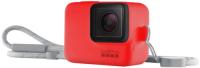 Купить Чехол для экшн-камер GoPro, Sleeve + Lanyard Red (ACSST-012)