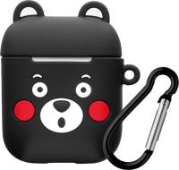 Чехол Deppa Black Bear для Apple AirPods (47026) фото