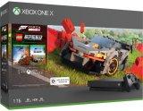 Игровая приставка Microsoft Xbox One X 1TB + Forza Horizon 4 + Lego DLC (CYV-00469)