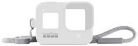Чехол для экшн-камер GoPro, Sleeve + Lanyard для Hero 8 White (AJSST-002)  - купить со скидкой