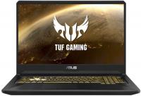 Купить Игровой ноутбук ASUS, TUF Gaming FX705DU-AU034 (AMD Ryzen 7-3750H 2300Mhz/17.3 /1920x1080/8GB/1TB+256GB SSD/DVD нет/NVIDIA GeForce GTX1660Ti/Wi-Fi/Bluetooth/Free DOS)