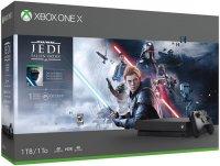 Игровая приставка Microsoft Xbox One X 1TB + Star Wars Jedi: Fallen Order