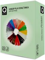 Картридж для 3D-принтера QUB 3D-PLA (QBCP) пластик для ручки 3d cactus pla d1 75мм l10м 12цв cs 3d pla 12x10m
