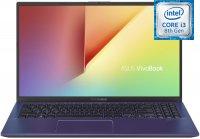 "Ноутбук ASUS ViVoBook 15 X512FA-BQ459T (Intel Core i3-8145U 2.1GHz/15.6""/1920х1080/4GB/1TB+Intel Optane 16GB/Intel UHD Graphics 620/DVD нет/Wi-Fi/Bluetooth/Win10)"