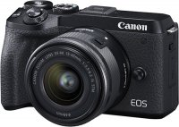 Системный фотоаппарат Canon EOS M6 Mark II M15-45 S + EVF