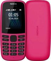 Мобильный телефон Nokia 105SS (2019) Pink (ТА-1203)