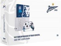 """Игровая приставка Xbox One Rainbo Xbox One S 1TB """"Зенит. Сила Льва"""" (93859)"""