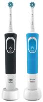 Электрическая зубная щетка Braun Oral-B Vitality D100.413.1 CrossAction, 2 шт фото