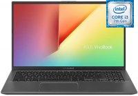 "Ноутбук ASUS ViVoBook 15 X512UA-BQ446T (Intel Core i3-7020U 2.3GHz/15.6""/1920х1080/4GB/256GB SSD/Intel HD Graphics 620/DVD нет/Wi-Fi/Bluetooth/Win10)"